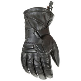 Black Joe Rocket Mens Windchill Leather Gloves 2014