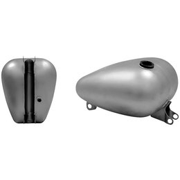 Bare Metal Paughco Axed Fuel Tank 4.2 Gal Single Bare For Harley 95-03