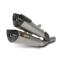 Stainless Steel Headers,titanium Mufflers, Carbon Fiber End Caps Akrapovic Dual Slip-on Mufflers Hexagonal Ss Ti Cf For Ducati Diavel 2011-2012