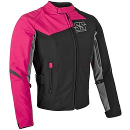 Speed & Strength Womens Backlash Armored Textile Jacket Pink