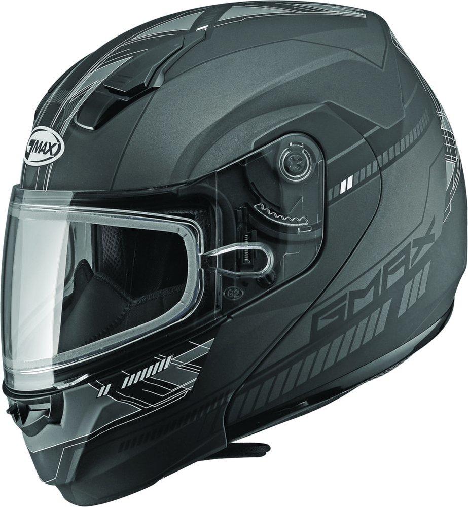 Full Face Cruiser Helmets >> $159.95 GMAX MD04 Modular Snowmobile Helmet #994893