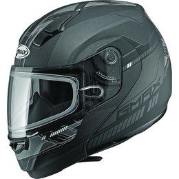 GMAX 04 Modular Snowmobile Helmet Silver