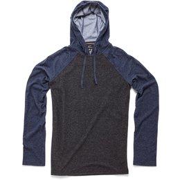 Alpinestars Mens Quest Hooded Pullover Long Sleeve Knit Shirt Black
