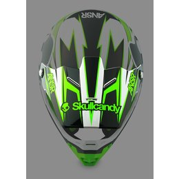 Skullcandy Iii Answer Replacement Visor For Evolve Helmet Green