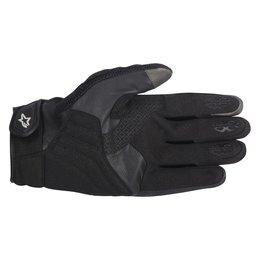 Black Alpinestars Mens Smx-2 Air Carbon Leather Textile Gloves 2014