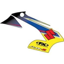N/a Factory Effex Graphic Kit Replacement 09 Style For Suzuki Rm-z250