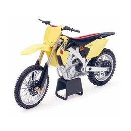 New Ray Toys Suzuki RM-Z450 2014 Dirt Bike Toy 1:12 Scale Yellow 57643
