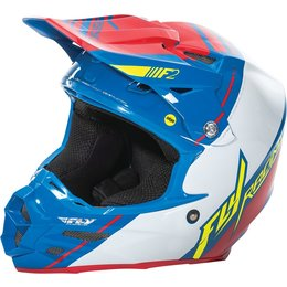 Fly Racing F2 Carbon Trey Canard Replica MIPS Helmet Blue