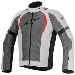 Alpinestars Mens Amok Air Drystar Lined Armored Textile Jacket Grey