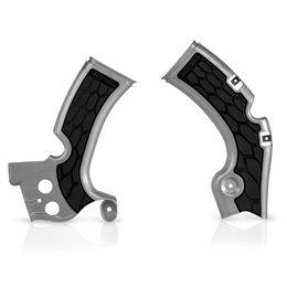 Acerbis X-Grip Frame Guard For Kawasaki KX450F 2012-2015 Silver/Black 2374271015