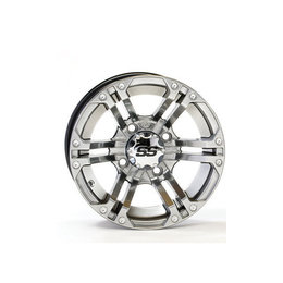 ITP SS212 Front Wheel 14x6 4/110 4+2 Platinum For Honda Kawasaki Suzuki Yamaha