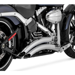 Vance & Hines Big Radius 2 Into 2 Dual Exhaust For Harley Breakout 26065