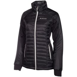 Klim Womens Waverly Insulated Textile Snowmobile Jacket Black