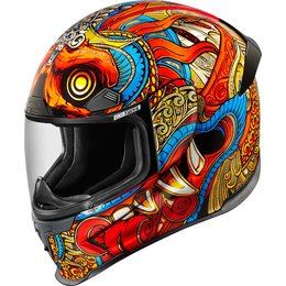 Icon Airframe Pro Barong Full Face Helmet Multicolored