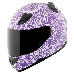 Speed & Strength Womens SS1200 United By Speed Full Face Helmet Purple