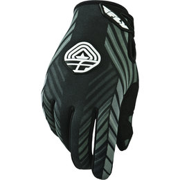 Black, Grey Fly Racing Mens 907 Mx Gloves 2014 Black Grey