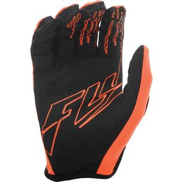 Fly Racing Youth Boys Lite Windproof MX Gloves Orange