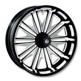 Black Rsd Boss Rear Wheel For Harley Flh Flt Abs 09-10