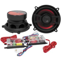 Hawg Wired DX504-70 DX Series 5.25 In Component Speakers Pr For H-D FLHT/X FLTR