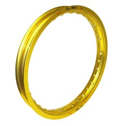 Pro-Wheel Rear Rim For Big Bike 1.85x19 Aluminum Gold For KTM Suzuki RM-Z250
