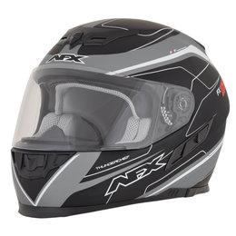 AFX FX-105 FX105 Thunderchief Full Face Helmet Grey