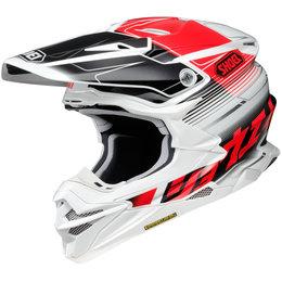 Shoei VFX-EVO Zinger MX Helmet White