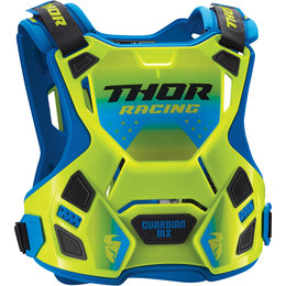 Thor Guardian MX Roost Guard Chest Protector Green