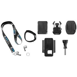 GoPro Accessory Kit For Smart Or Wi-Fi Remote For Hero3/+ Hero4 Camera Black
