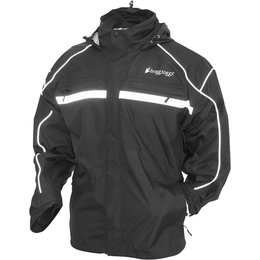 Frogg Toggs Mens Java 2.5 Illuminator Rain Jacket Black