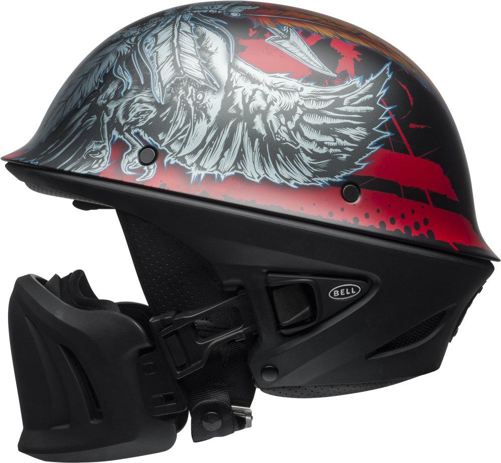 Bell Motorcycle Helmet >> $249.95 Bell Powersports Rogue Airtrix Half Helmet #1077482