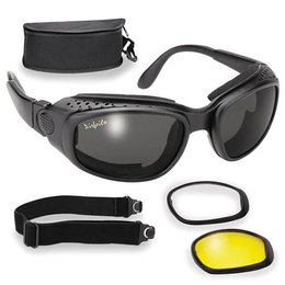 Black Pacific Coast Airfoil 9100 Interchangeable Goggles