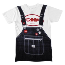 FMF Mens Special Edition Ronnie Mac Overalls T-Shirt 2015