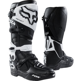 Fox Racing Mens Instinct MX Riding Boots Black