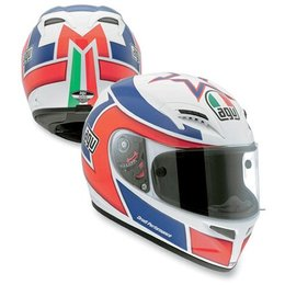 Marco Lucchinelli Replica Agv Grid Full Face Helmet