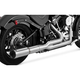 Vance & Hines Hi-Output 2 Into 1 Full Exhaust System For Harley-Davidson Softail