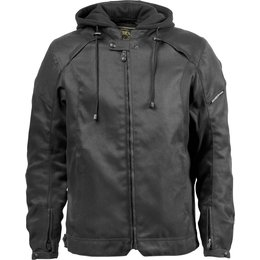 RSD Roland Sands Designs Mens Trent Textile Riding Jacket Black