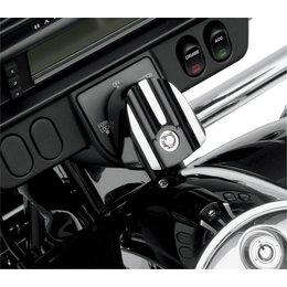 Black Covingtons Ignition Switch Cover For Harley Flh Flt 06-10