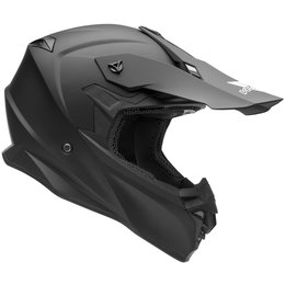 Vega VF1 VF-1 MX Motocross Offroad Riding Helmet With Visor Black