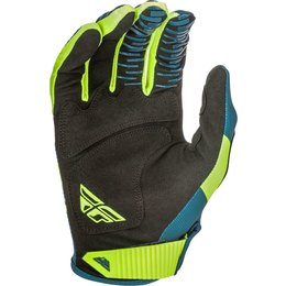 Fly Racing Mens Kinetic Shield Gloves Blue