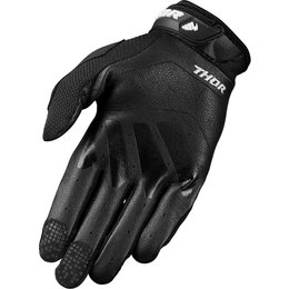 Thor Mens Defend Touch Screen Capable Textile Gloves Black