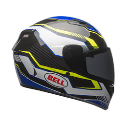 Bell Powersports Qualifier Torque DOT ECE Approved Full Face Helmet Blue