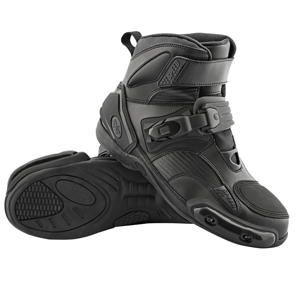 Synthetic Motorcycle Boots