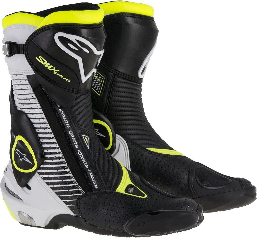 Full Face Cruiser Helmets >> $369.95 Alpinestars Mens S-MX SMX Plus CE Riding Boots #996767