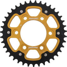 Supersprox Stealth Rear Sprocket 39T Kawasaki Z1000 ZX10R Gold RST-1489-39-GLD Gold