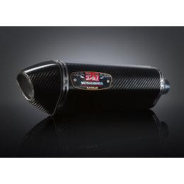Stainless Steel Midpipe, Carbon Fiber Muffler, Carbon Fiber End Cap Yoshimura R-77 Slip-on Muffler Stainless Carbon Carbon For Kaw Ninja 300 2013