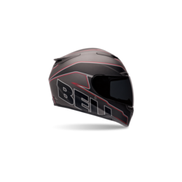 Matte Black Bell Powersports Rs-1 Emblem Full Face Helmet