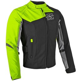 Speed & Strength Womens Backlash Armored Textile Jacket Green