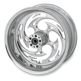 Chrome Rc Components Savage Wheel 1 In Rear 18x8.5 For Harley Lsd Rsd