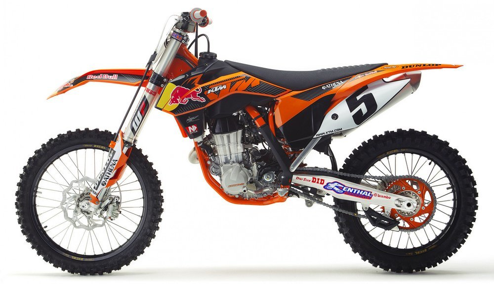 44 99 New Ray Toys Ktm 450sk F Red Bull Dirt Bike Toy 1039004