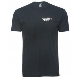 Fly Racing Mens Choice T-Shirt Brick Red Black